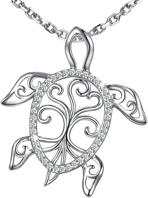 "Tibetan Silver TORTOISE TURTLE CHARM /& 20/"" Necklace Birthday Gift Present."