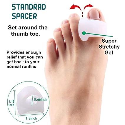 Amazon.com: 9 Pieces Bunion Corrector and Bunion Relief Kit - Brostown Toe Separator Hallux Valgus Bunion Corrector Orthotics Feet Bone Thumb Adjuster ...