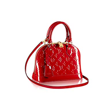 2ddd5def1d85 Image Unavailable. Image not available for. Color  Louis Vuitton Monogram  Vernis Leather ALMA BB ...