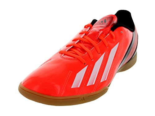 reputable site 17f7e 56071 adidas F5 Indoor Low Soccer Shoes - Red White Black (Men) -