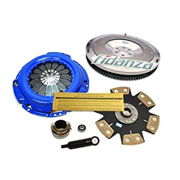 EFT etapa 3 Kit de embrague + Fidanza aluminio Volante 02 - 05 Lexus IS300 3.0L 2jz-ge: Amazon.es: Coche y moto
