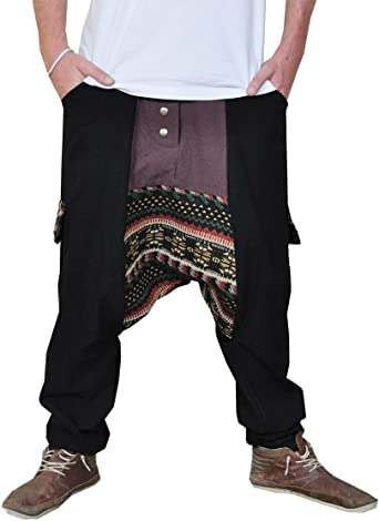 virblatt Pantalones cagados Jersey Largo en 2 Colores con una ...