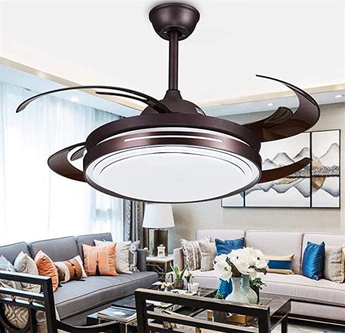William 337 candelabro Araña, LED Ventilador de techo Araña, 48 ...