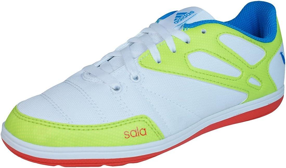 Prescripción Derecho Interprete  Adidas Messi 15.4 ST J Boys Soccer Sneakers-White-10.5K: Amazon.ca: Shoes &  Handbags