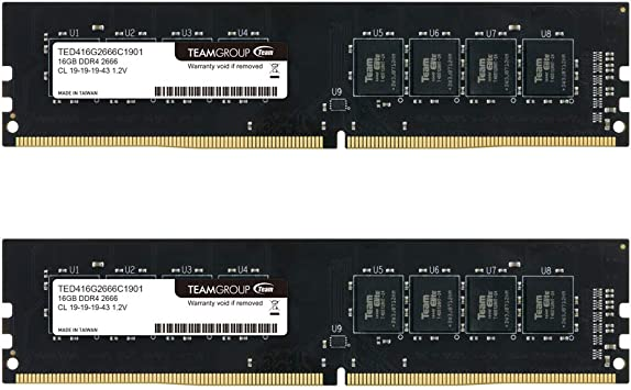 Crucial CT16G4DFD8266 DDR4, 2666 MT//s, PC4-21300, DR x8, DIMM, 288-Pin Memoria RAM de 16GB