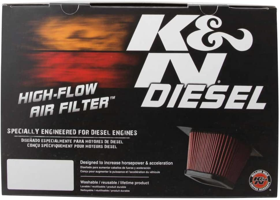 K/&N E-0781 High Performance Replacement Air Filter
