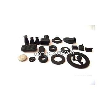 Kit almohadillas gommino pasacables Vespa 50 special R L N 125 Et3 Primavera: Amazon.es: Coche y moto