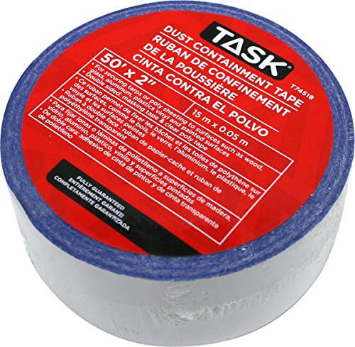 Task Tools T74518 QSR Dust Containment Tape, 2'' x 50'' by Task Tools