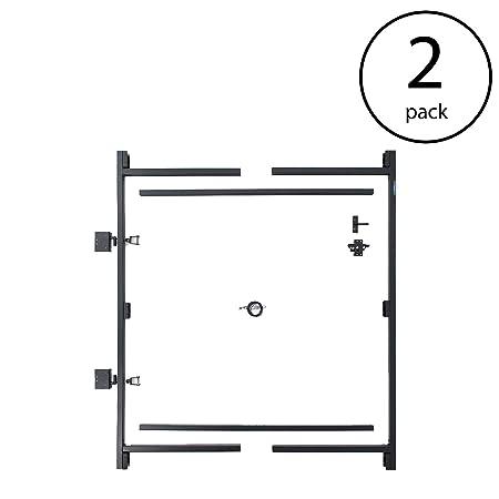 Adjust-A-Gate Steel Frame Gate Building Kit, 60 -96 Wide, 6 High 2 Pack