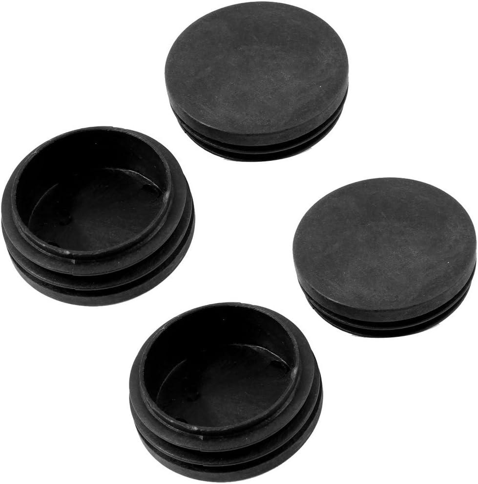 BLANCA di/ámetro 22 mm ajile 4 piezas EPR222-M Contera redonda acanalada para tubos