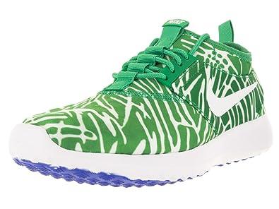 newest collection 91f88 220c2 Nike Damen WMNS Juvenate Print Turnschuhe Verde (Spring LeafWhite-Racer  Blue)