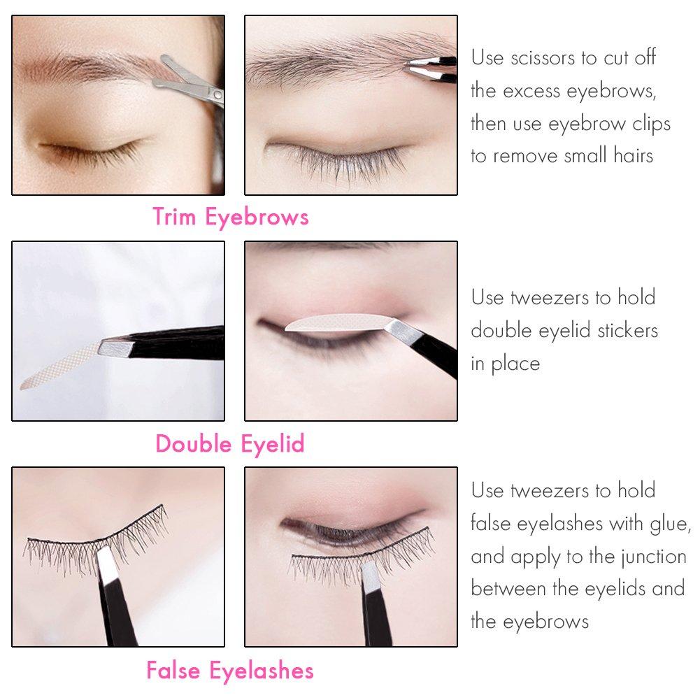 Amazon Slant Tweezers Eyebrow Tweezer Niidor Professional