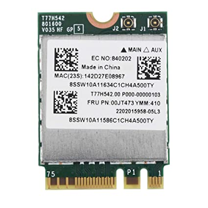 Amazon.com: Serounder Dual Band 433Mpbs Network Card NGFF M2 ...