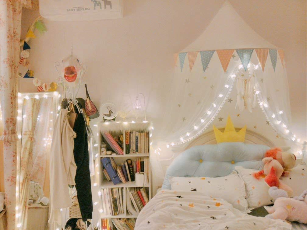 Tende Per Camera Bambini : Baldacchino per letto con zanzariera per neonato bambino bambina