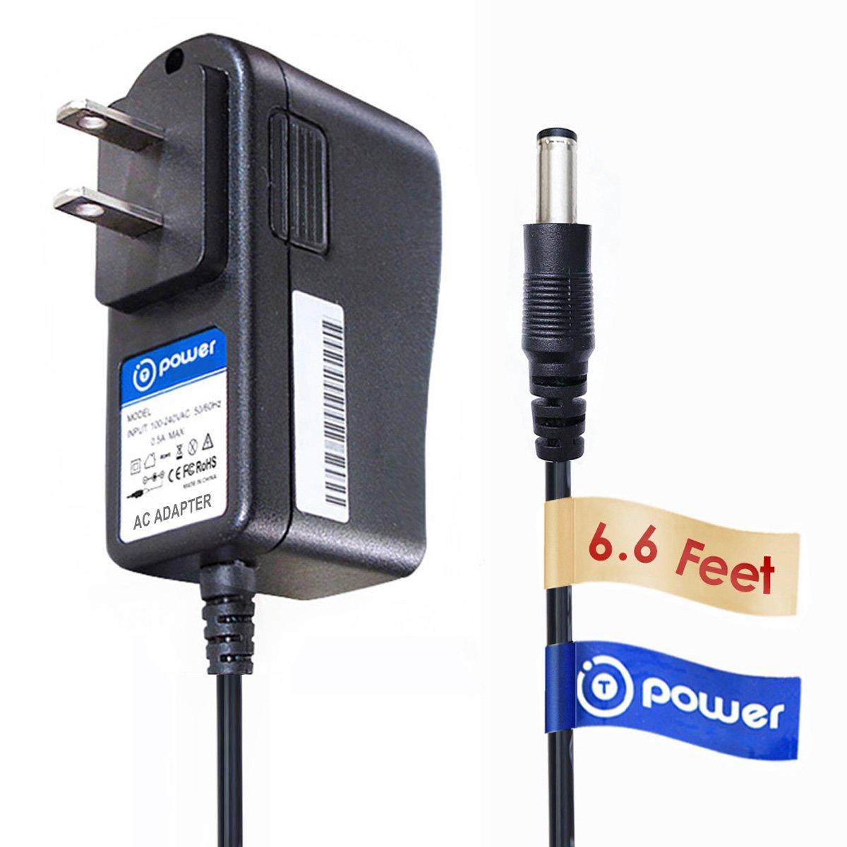 T-Power (6.6ft Long Cable) for Kaito Voyager Pro AD500 KA007 KA008 KA009 KA600 KA500 Digital Solar Dynamo Hand Crank Radio Digital Emergency AC DC Adapter