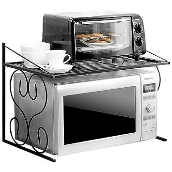Anna estanterías de Cocina Estante de Almacenamiento de Cocina Estante de Horno de microondas de 2