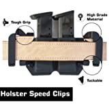 "HolsterBuilder 1.75"" Holster Speed Clips - Kydex"