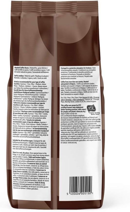 Marca Amazon Solimo Granos de café 2 kg (2 x 1 kg): Amazon.es ...