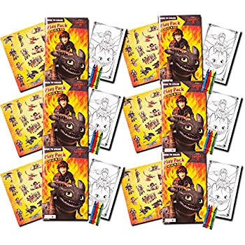 Amazon dragon temporary tattoos party favor set 75 dragons how to train your dragon ultimate party favors packs 6 sets with stickers ccuart Images
