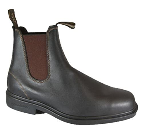 Blundstone 062 Botas de Cuero Color Marrón de Hombre Botines Chelsea (41)