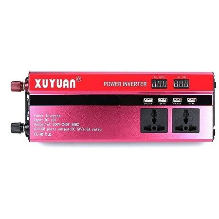 DJNBQ 900W de potencia del inversor solar DC 12V a 220V AC ...