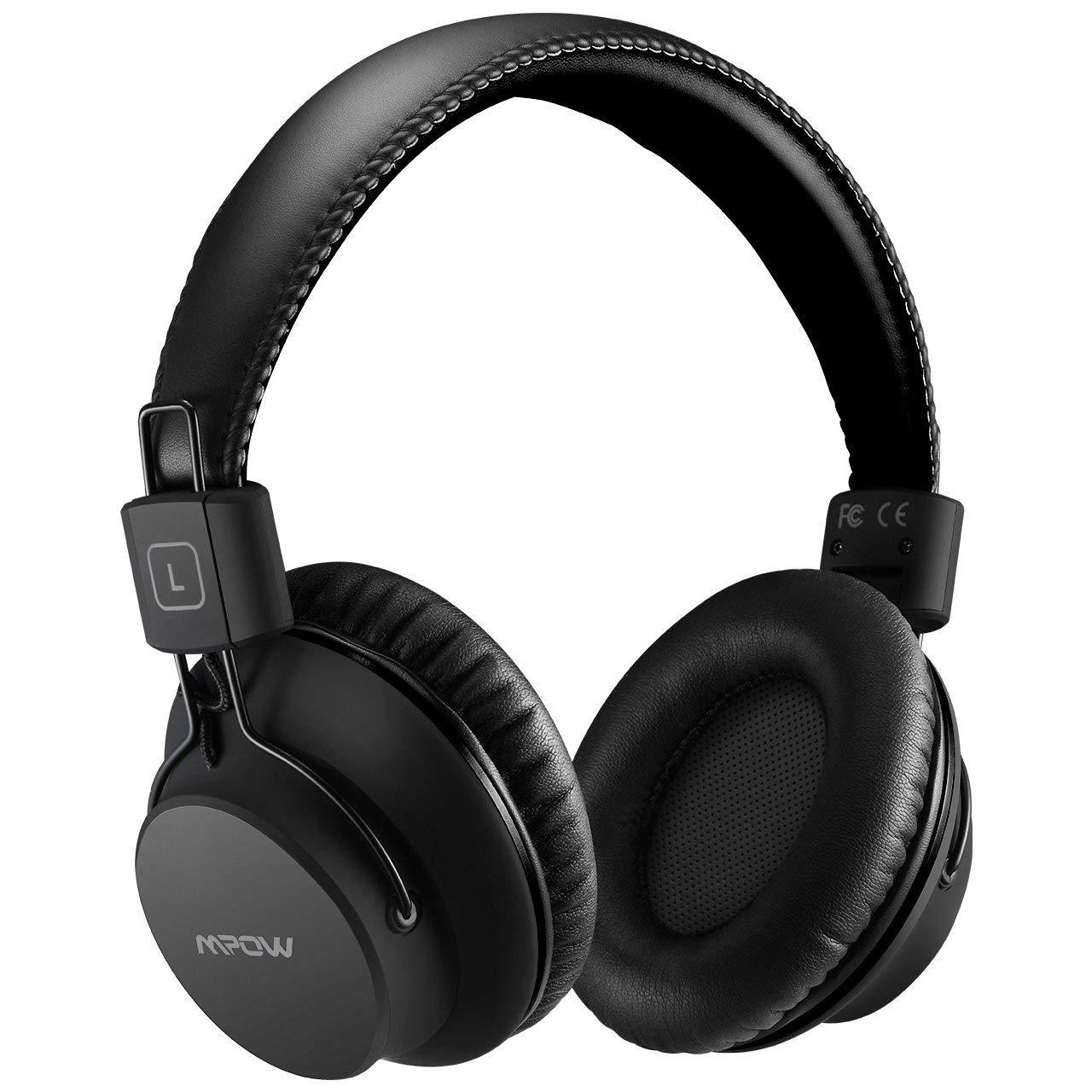 982a96e3285af7 Mpow H1 Cuffie Bluetooth, Cuffie Bluetooth CSR Over-Ear 4.1, Autonomia 20  Ore, Cuffie Bluetooth Pieghevole Ergonomico con Microfono, Riduzione di  Rumore, ...