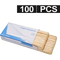 GreenLife® Professional Spa Quality Wax Applicator Spatula Large Sticks For Hair Removal (A, 100 Pcs)