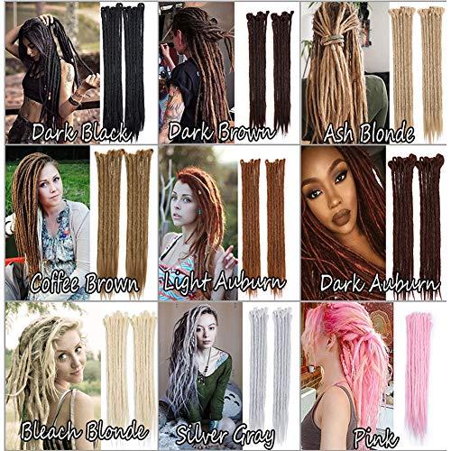 100% Handmade Dreadlocks Extensions Fashion Reggae Hair 20