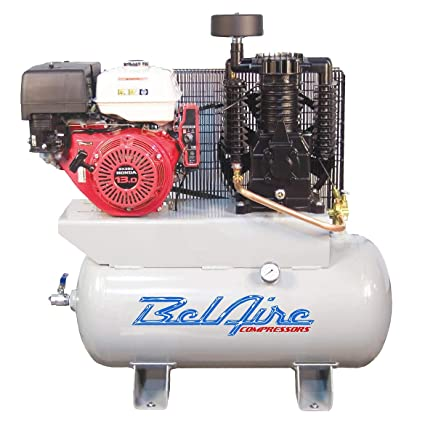 Amazon com: BelAire 3G3HHL 13 HP 30 Gallon Gas Driven Honda Engine