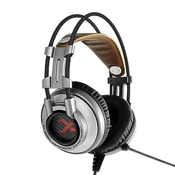 SamMoSon 2019 Auriculares Bluetooth Sony Mini Inalambricos,Xiberia K9 Auriculares para Juegos con Micrófono Auriculares para Pc / Ps4 / Laptop: Amazon.es: ...