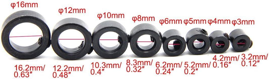 Latinaric 3-16mm Punte profondit/à della tappa Anello posizionatore Collari Locator lavorazione del legno strumento chiave esagonale