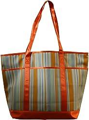 Idena 929744 - Tasche Streifen, orange