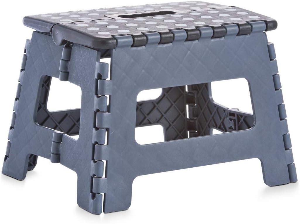 anthrazit Zeller 13733 Klapphocker schwarz Kunststoff 32 x 25 x 22 cm