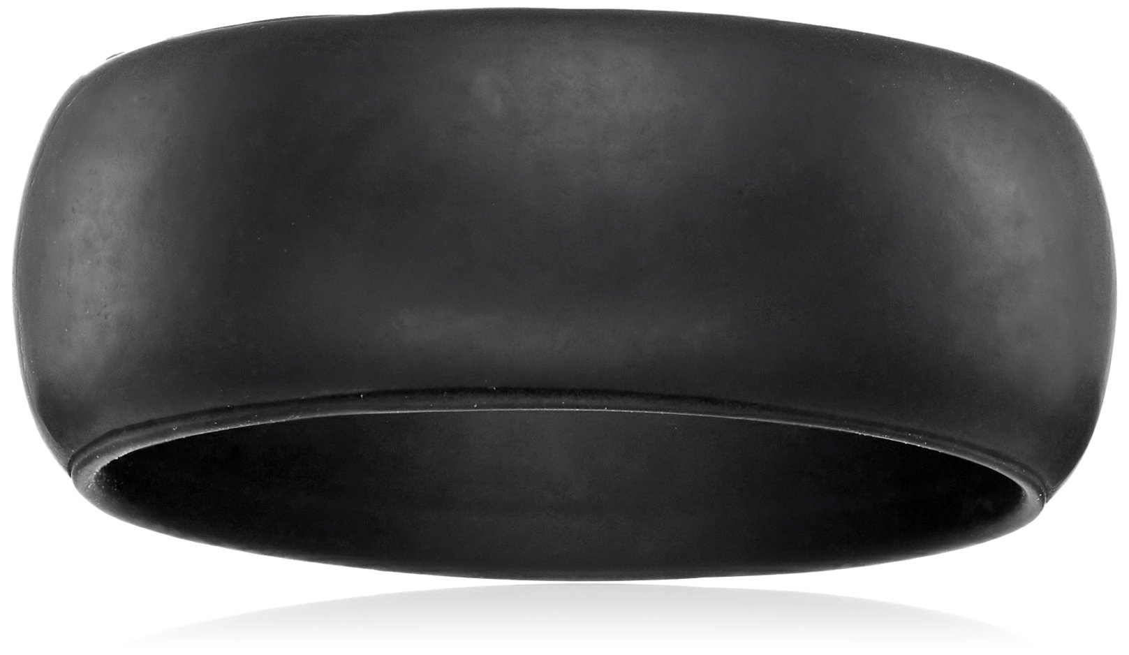 Men's Quantum Comfort Silicone Designed for Everyday Use Wedding Band, Size 10