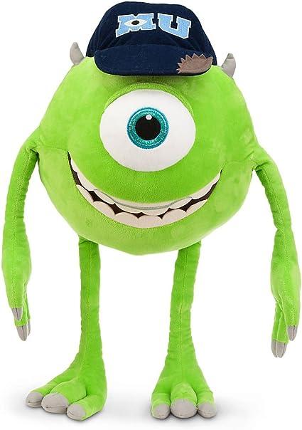 Amazon Com Disney Store Large Jumbo 21 Mike Wazowski Plush Stuffed Toy From Monsters University Toys Games