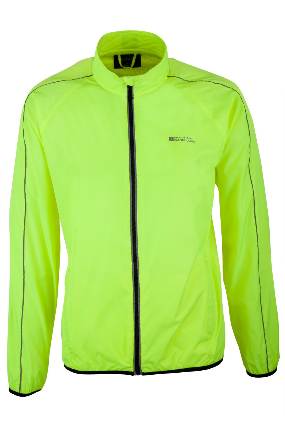 Mountain Warehouse Force Mens Reflective Water-Resistant Running Jacket