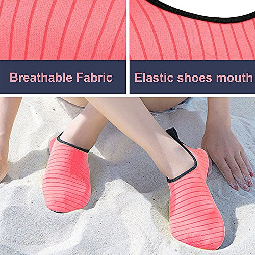 Aqua Red Beach Boating Yoga Socks Shoes Quick Diving Kids Adult Water Surf for Bmeigo Swimming Barefoot Dry Pool Shoes g0FUIqnxw