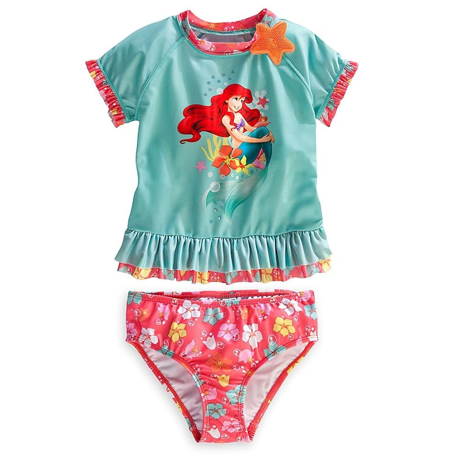 Amazon Disney Store Ariel The Little Mermaid Rash Guard