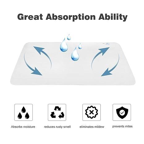 finether Humedad de alfombrillas con sensor de humedad perfecto para alfombrillas cama Alfombrilla colchones Dormir (