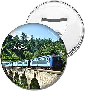Weekino Refrigerator Magnets Sri Lanka Demodara Nine Arch Bridge Ella Bottle Opener Beer Magnet Travel Souvenir Collection Gift
