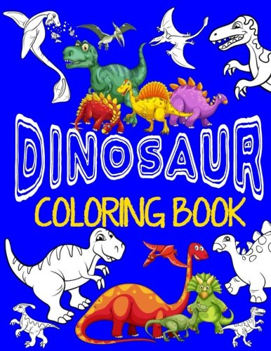 ok ~ Jumbo Dino Coloring Book For Children: Color & Create Dinosaur Activity Book For Boys with Coloring Pages & Drawing Sheets (Coloring Books For Boys) (Volume 1) ()