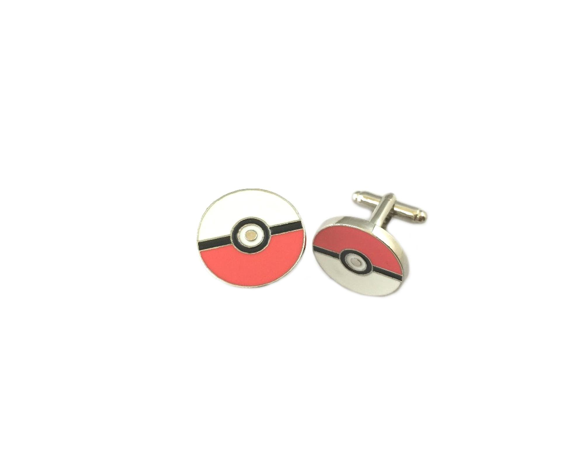Athena Brand Game Cartoon Pokemon Pokeball Cufflinks In Gift Box