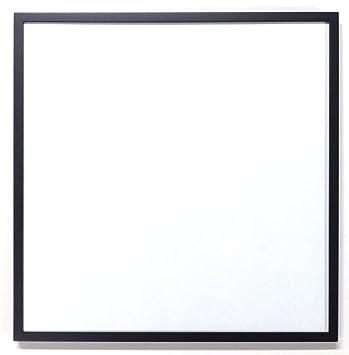Amazon|正方形額縁 D771 (黒, 4...