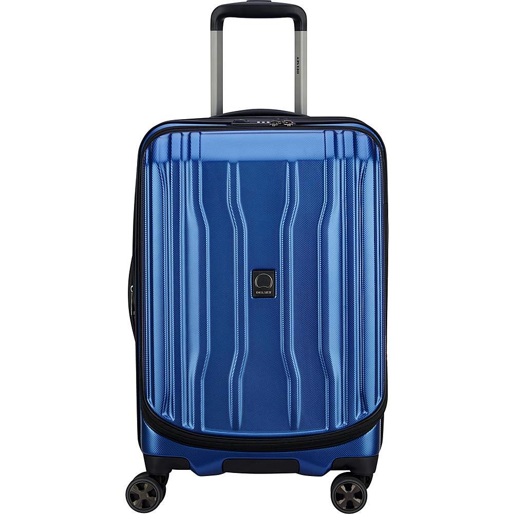 DELSEY Paris, 402079805 機内持ち込み手荷物 B07RHVYR14 ブルー