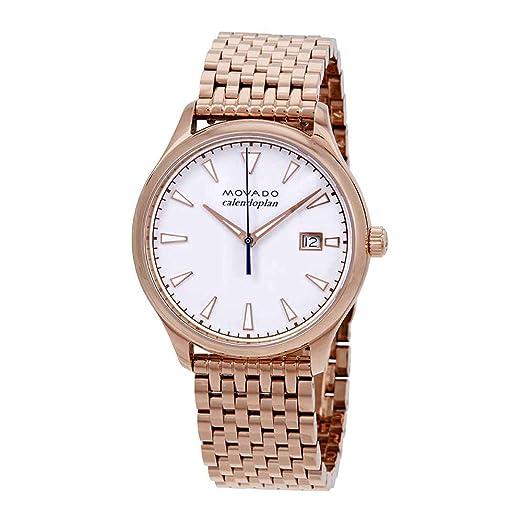 Movado Heritage Calendoplan - Reloj para Mujer, Esfera Blanca, 3650047: Amazon.es: Relojes