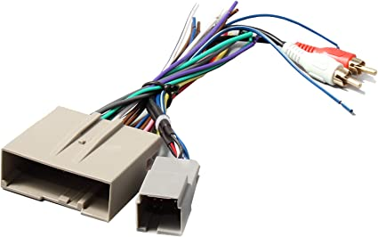 Amazon.com: RED WOLF Car Stereo Radio Wire Harness Head Unit Video  Replacement with RCA Adapter Amp Power Input Connectors for Select Ford  F150/F250 Lincoln Mercury 03-2013: Car Electronics   Wolf Wiring Harness      Amazon.com