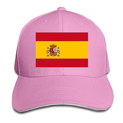 Amazon.com  Spain Spanish Flag Cool Hip Hop Cap Headwear (6700064282919)   Books 0bd3c265de8