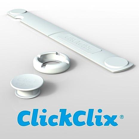 Sistema unión para nórdicos y edredones de plumas - 20 sets ClickClix® patentado (Blanco