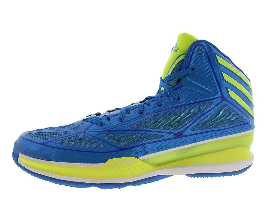 últimos lanzamientos calidad y cantidad asegurada calidad y cantidad asegurada Adidas Adizero Crazy Light 3 Mens Basketball Shoe Pride Blue ...
