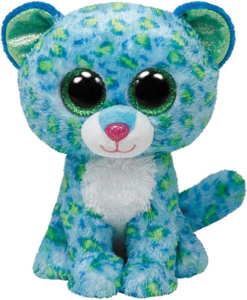 Ty - Leopardo de Peluche, 23 cm, Color Verde (34102TY): Amazon.es: Juguetes y juegos